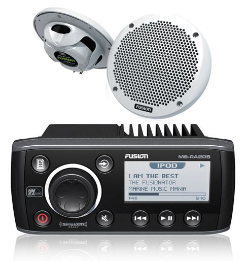 Fusion RA205 Marine Stereo Package
