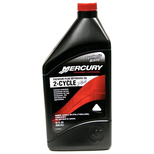 Mercury 2-Cycle Premium Plus 946ml Outboard Oil