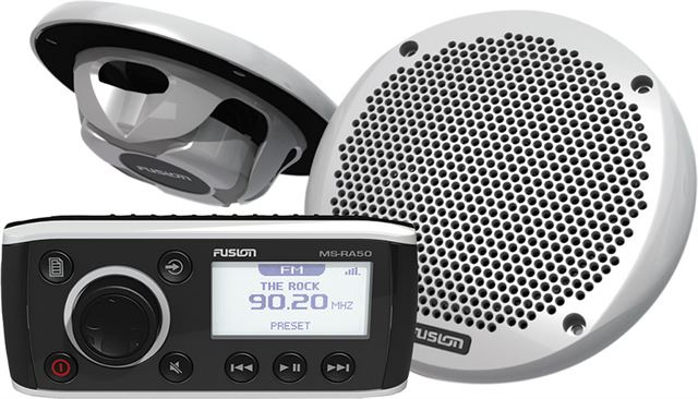 Fusion RA50 Marine Stereo Package