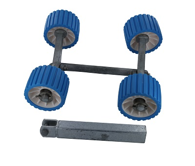 Trojan Quad Roller and Bracket