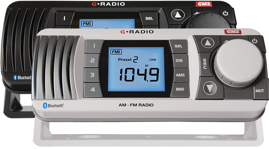 GME GR300 Marine Stereo Package