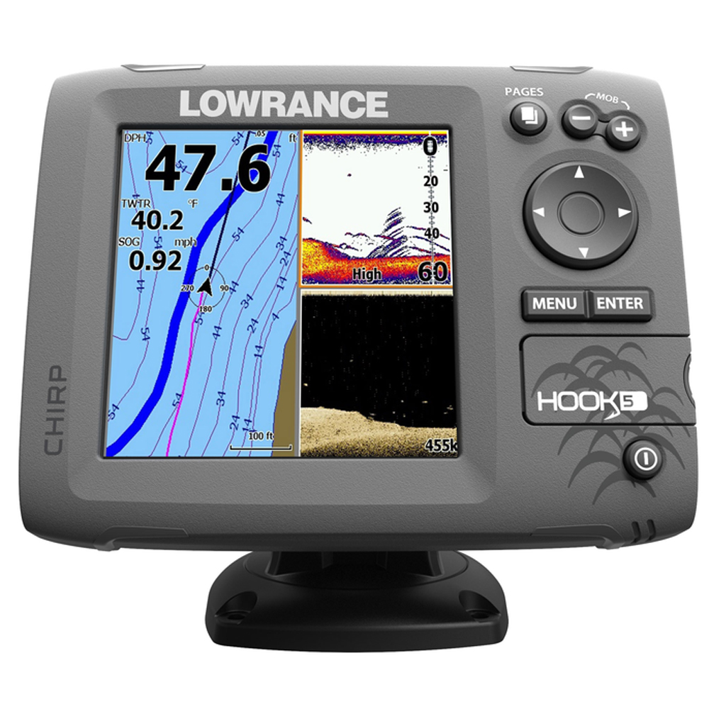 Lowrance Hook 5 Fishfinder-Chartplotter