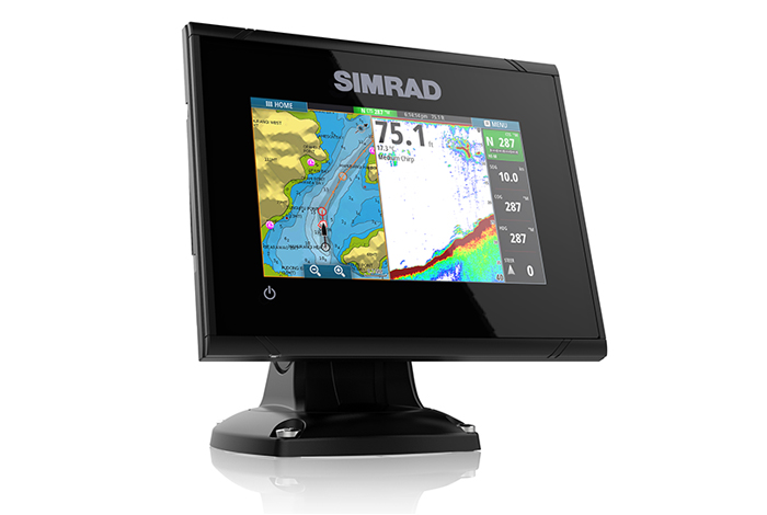 Simrad G05 XSE Fishfinder-Chartplotter