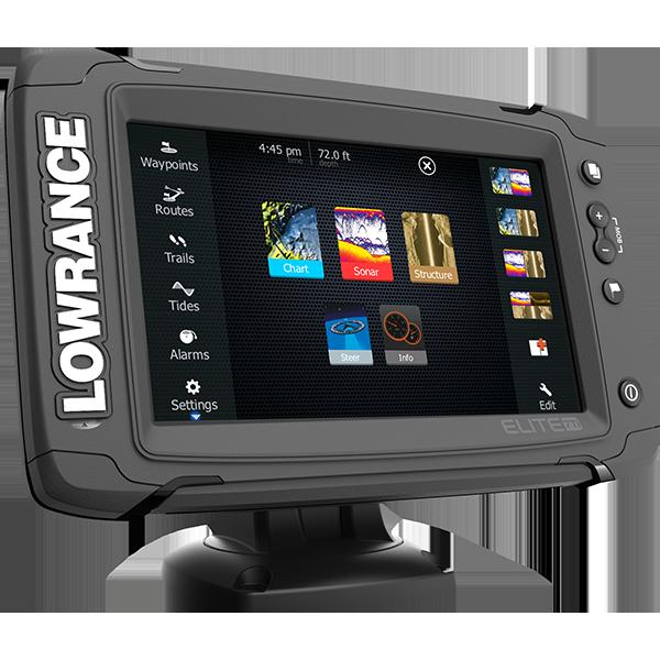 Lowrance Elite 7Ti Fishfinder-Chartplotter