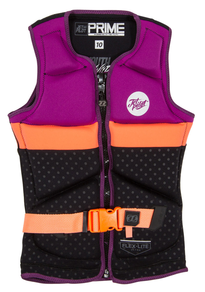 Jet Pilot Prime Youth Girls Wake/Ski Vest