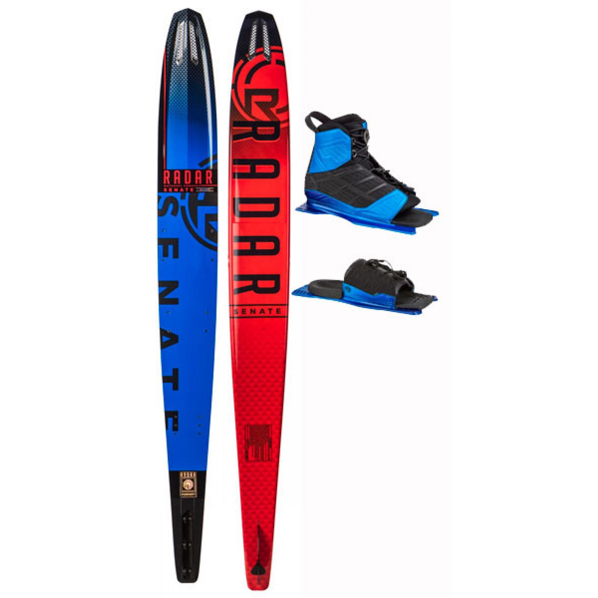 Radar Senate Alloy Slalom Ski with Vector Boots