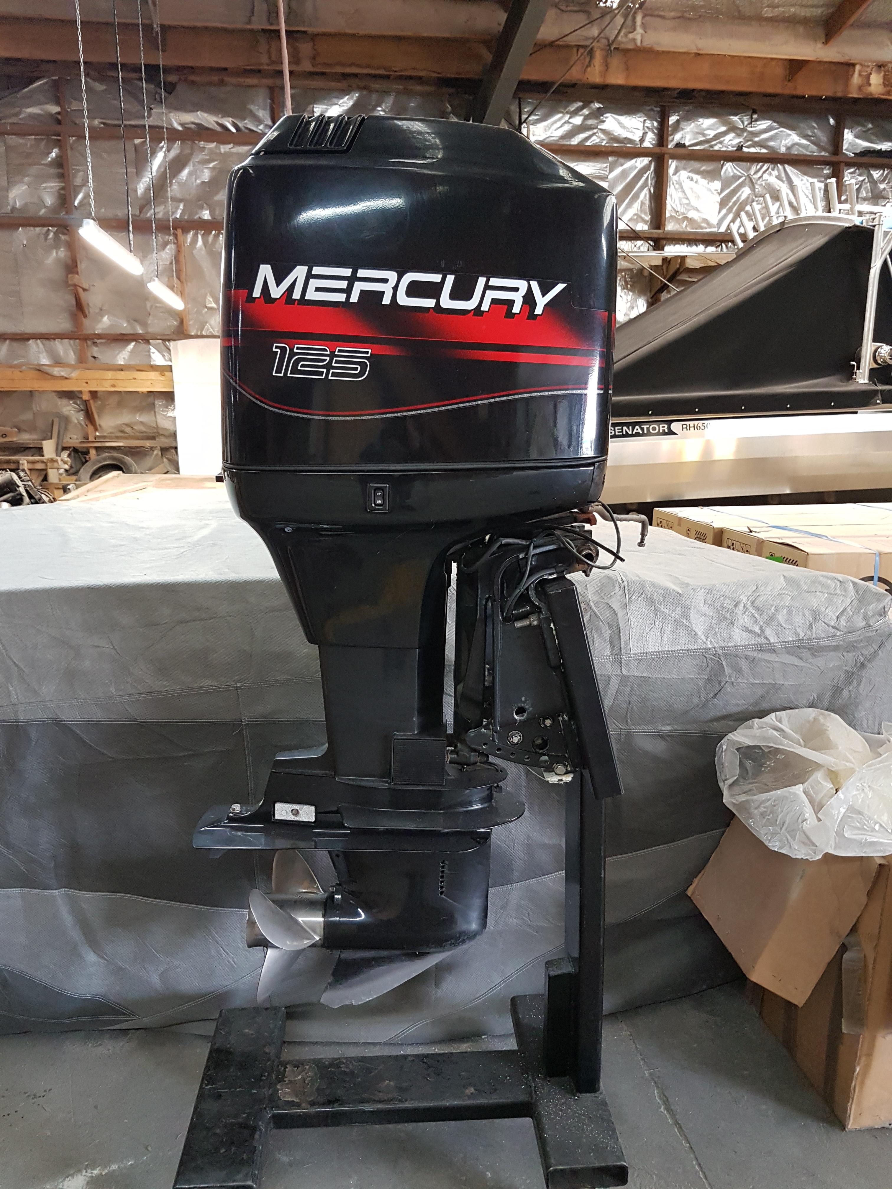 125HP Mercury Oil Injected Two Stroke