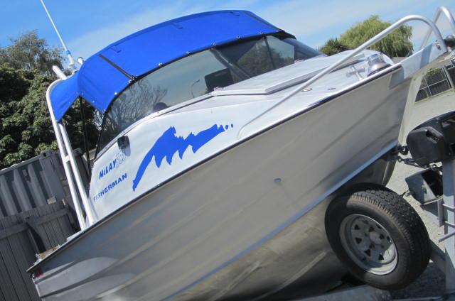 McLay 585 Fisherman