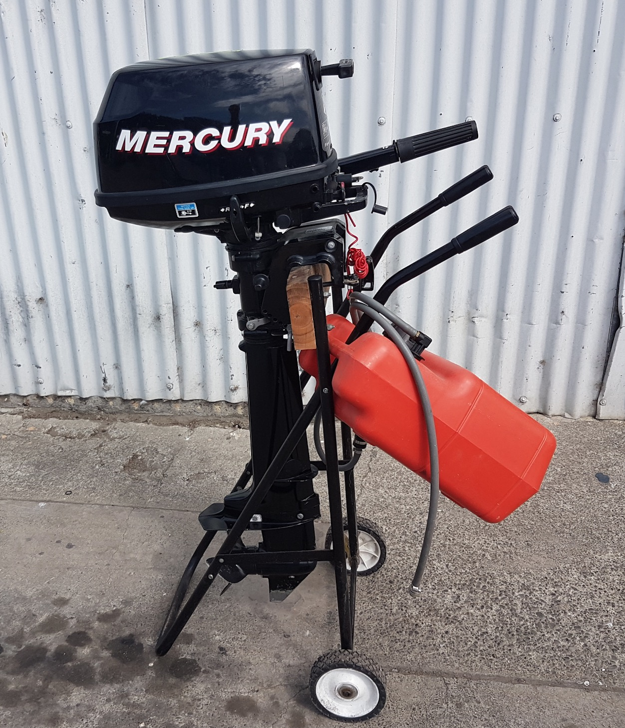Mercury 6HP 4 Stroke Long Shaft