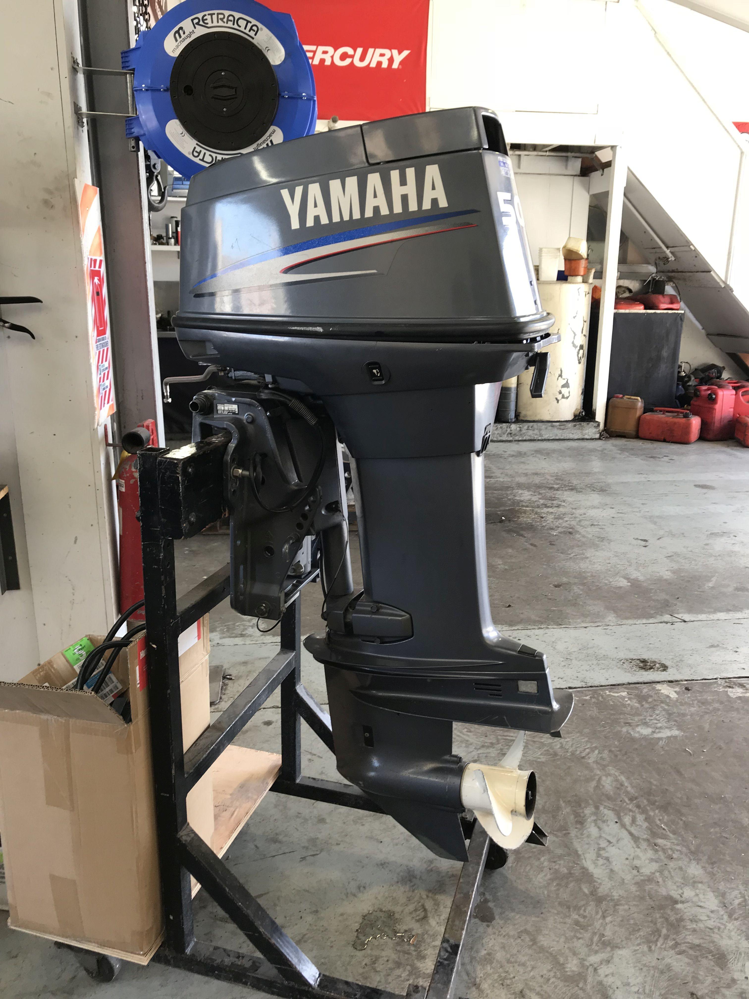 50HP Yamaha Two Stroke Motor