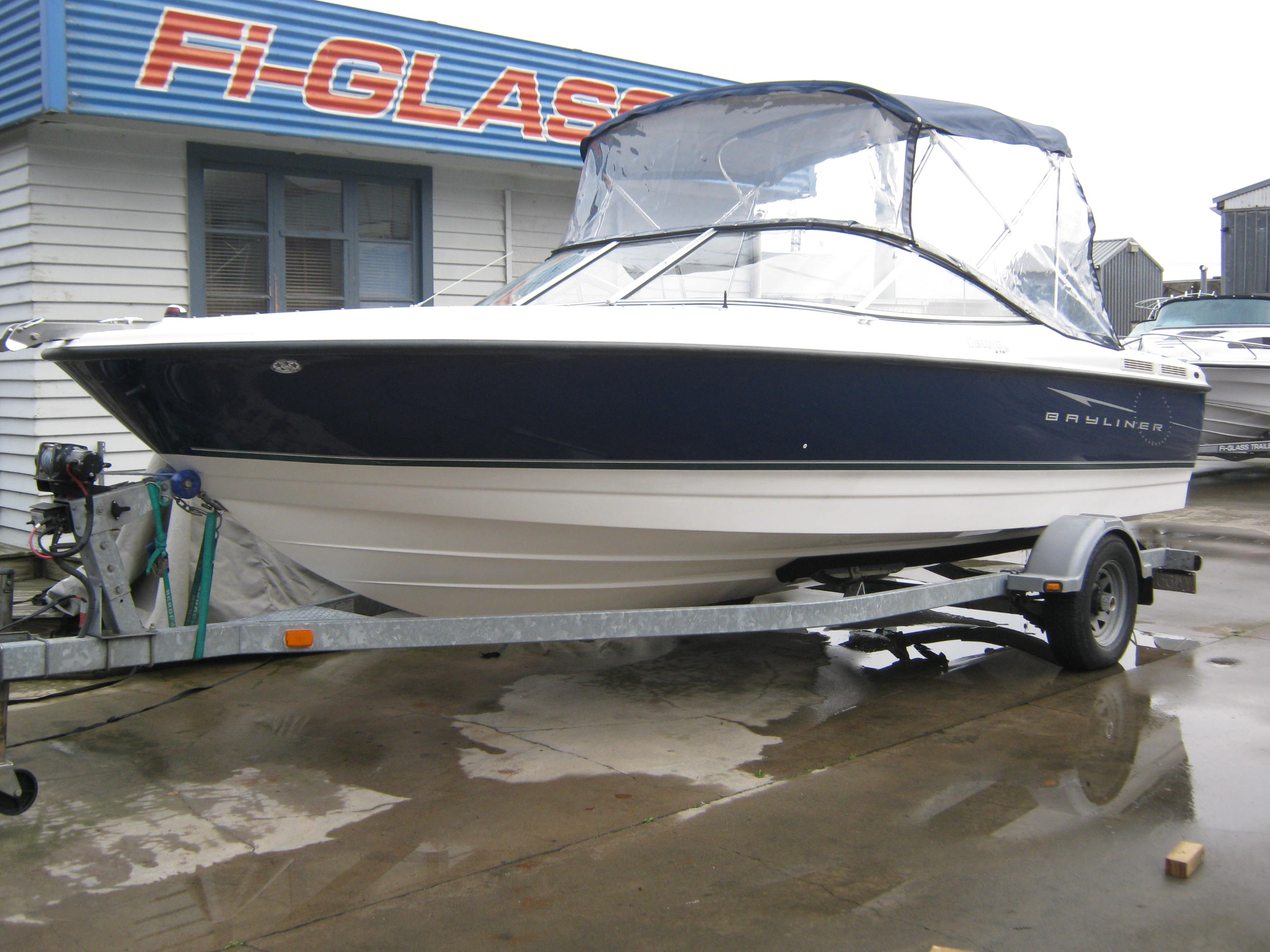 Bayliner 215 Discovery Bowrider