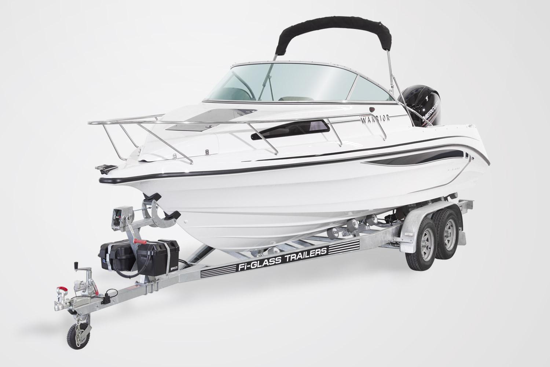 Warrior 640 Cabin Boat – Third, Third, Third Deal
