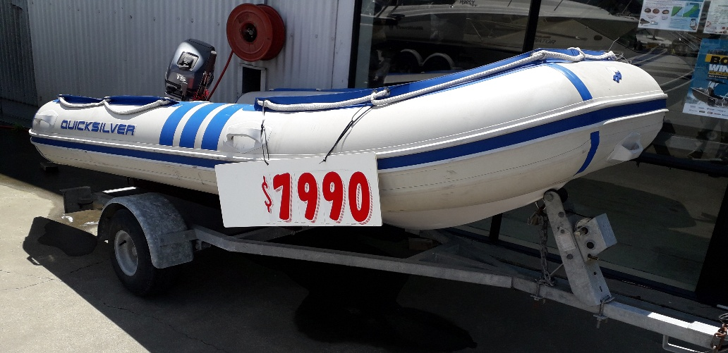 Quicksilver 3.2m Inflatable