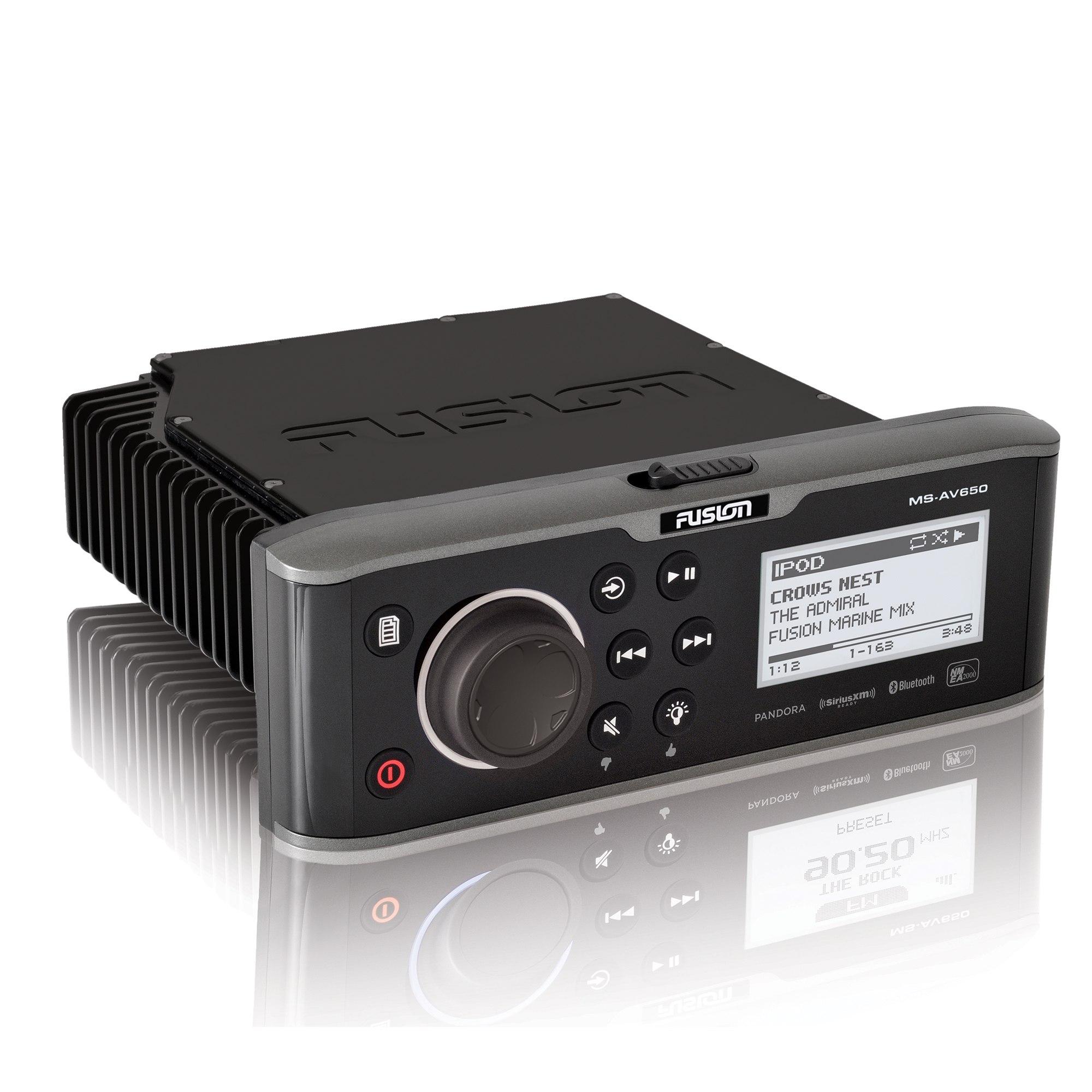 Fusion AV650 Marine Stereo Package