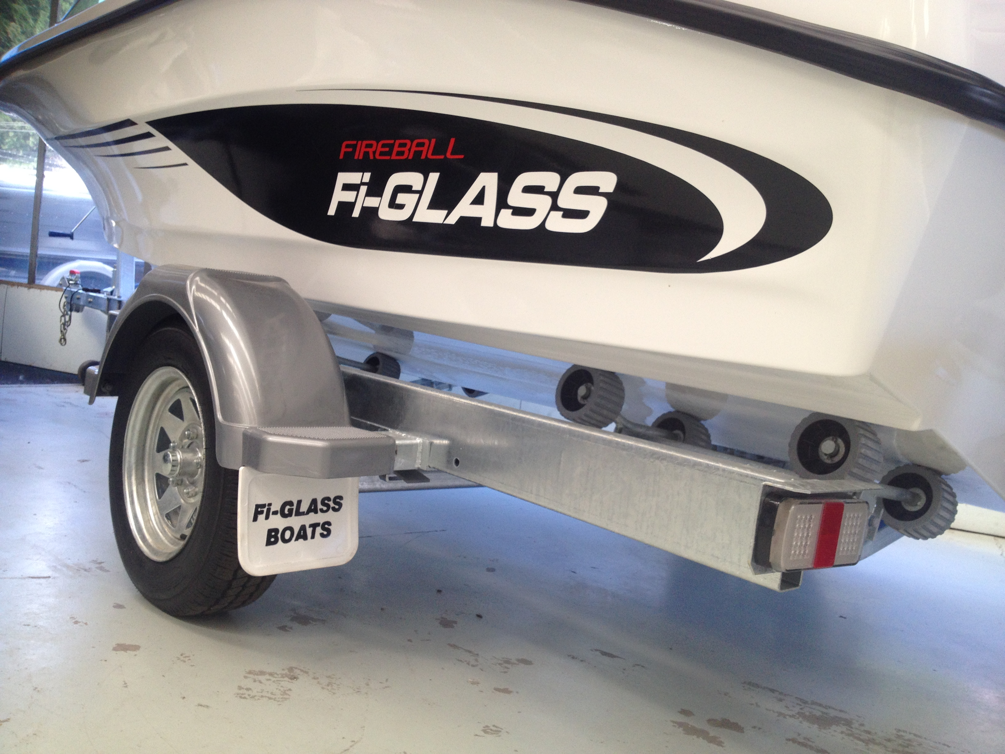 Fi-Glass 4.75m Trailer