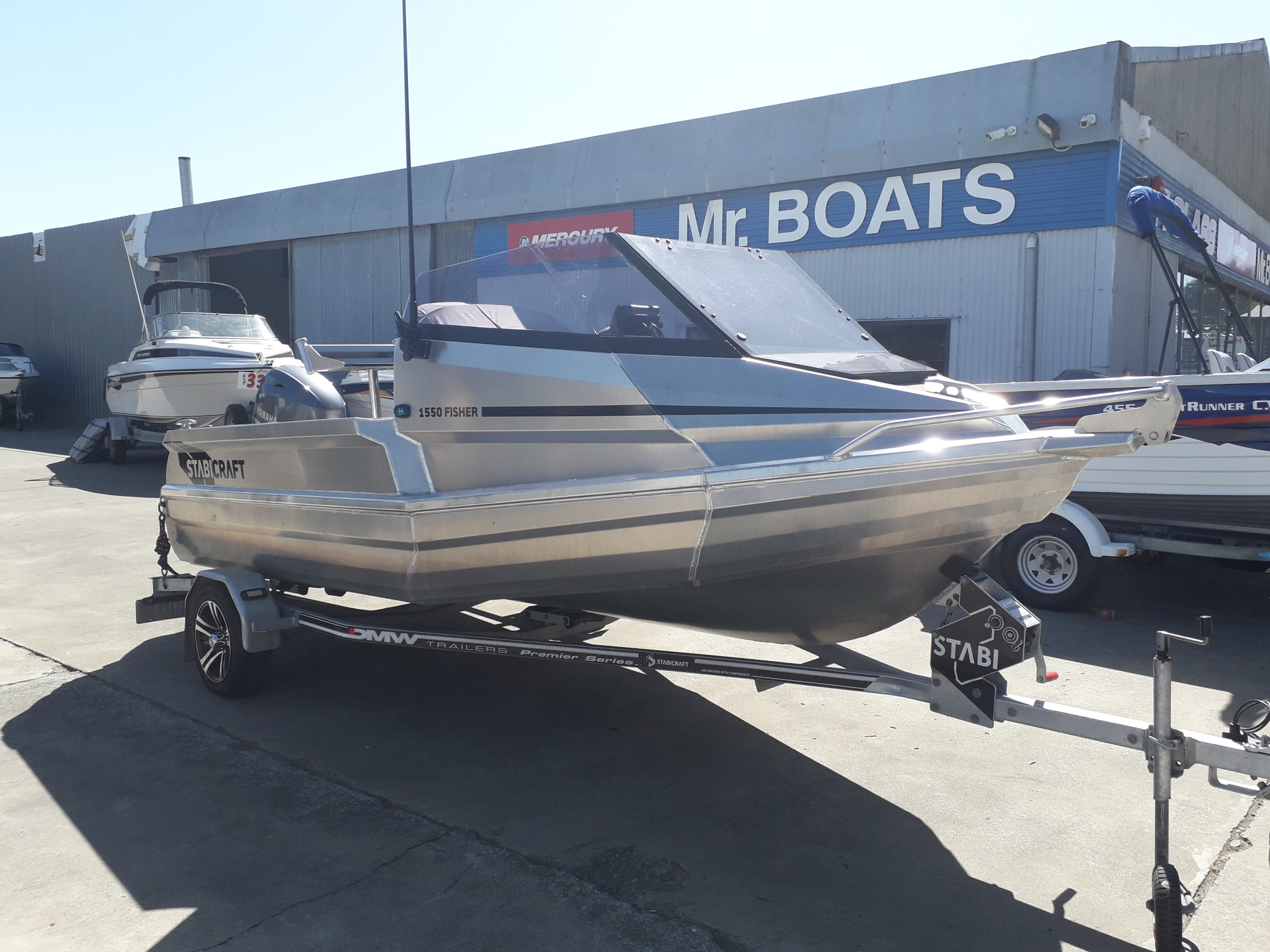 Stabicraft 1550 Fisher 2018